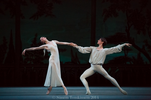 Mariinsky Ballet Romeo and Juliet Royal Opera House 2014 Choreography Leonid Lavrosky Dancers Juliet  Viktoria Tereshkina Romeo Xander Parish