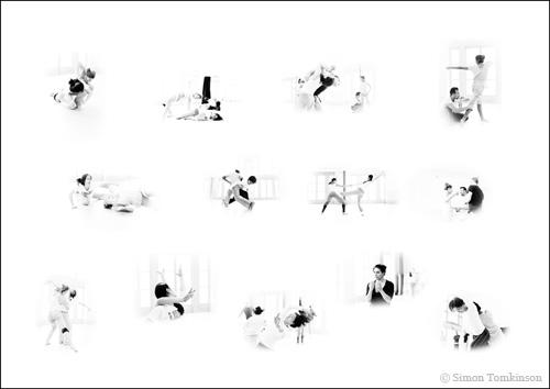 Simon Tomkinson Photography Mayuri Boonham rehearsal Pavilion Dance South West Ex Nihilo