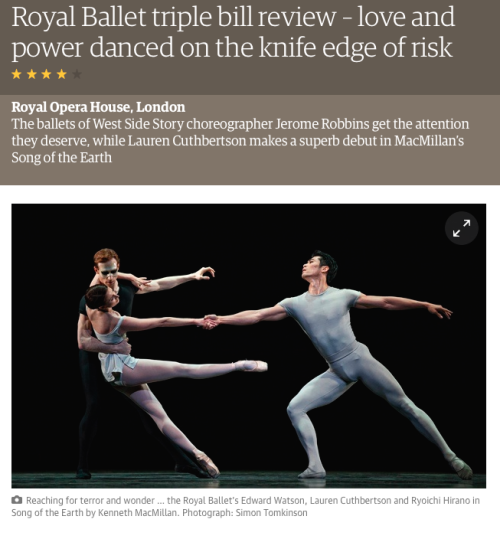 The Guardian Royal Ballet Simon Tomkinson Photogaphy dance movement photographer